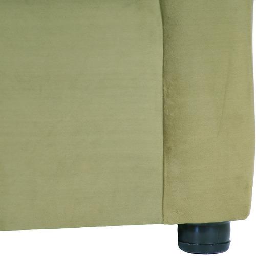 living américa 321 felpa verde musgo / muebles américa