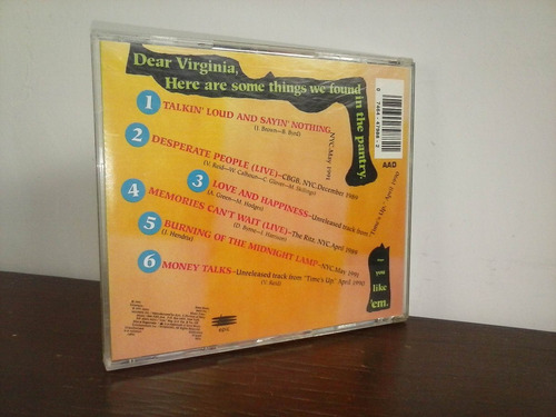 living colour - biscuits ep * cd made in usa ( impecable )