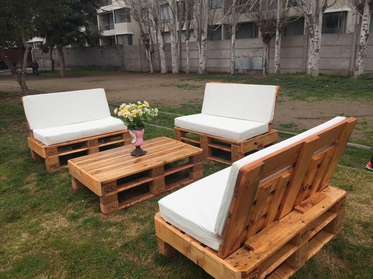 Living de palets en mercado libre - Comprar muebles de palets ...