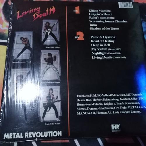 living death - metal revolution, vinilo