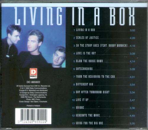 living in a box best of cd uk madonna erasure depeche ciudad