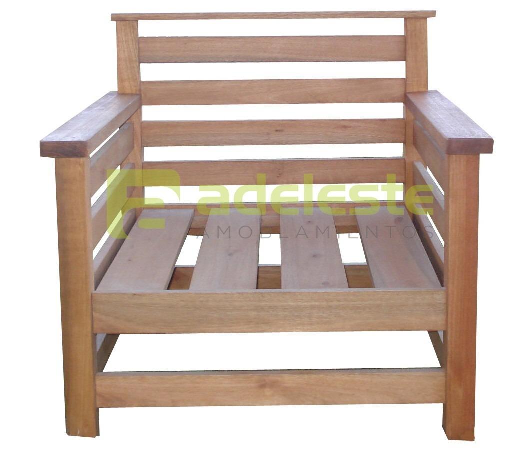 Juego living de jardin en madera para exterior corral for Muebles de jardin uruguay