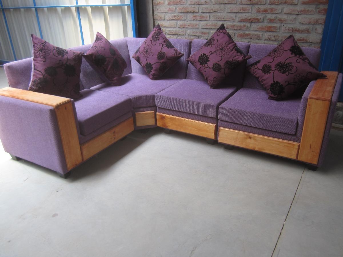 Living L 170 X 240 Cms 4 Piezas Sofas L Directo De Fabrica