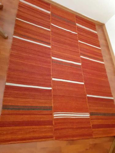 living reina ana y 2 alfombras de fibra natural en buen esta