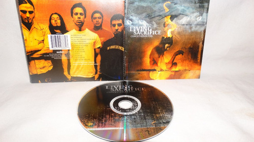 living sacrifice - conceived in fire (thrash cristiano usa 8