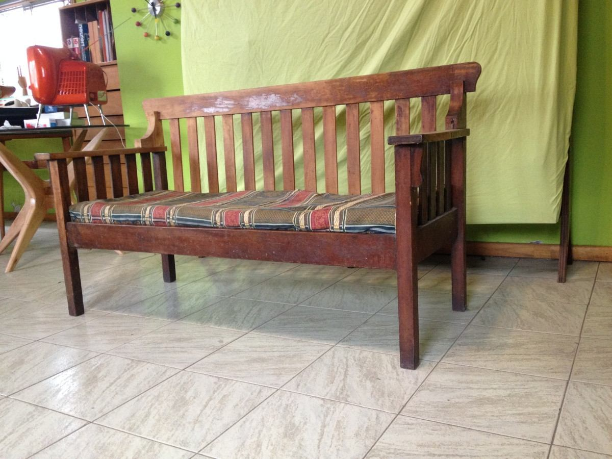 Living sofa sillon antiguo fiscal roll top estado original - Restaurar sillon antiguo ...