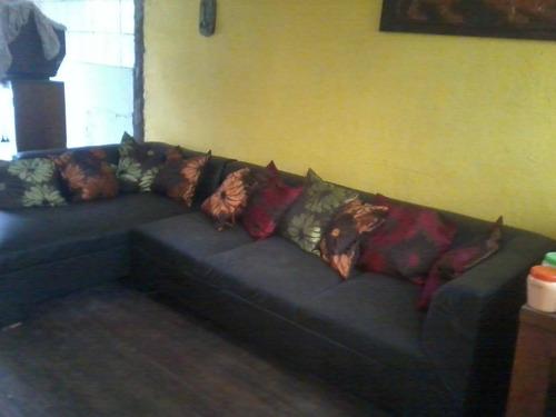 Living Tipo L Color Cafe Moro Nuevo