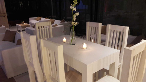 livings de hierro - estilo industrial sillas mesas - eleyefe
