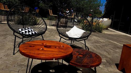 livings de hierro-puff-banquetas de hierro- sillas tiffany