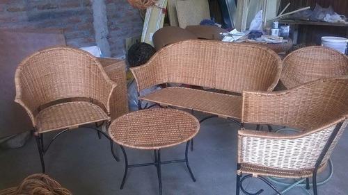 living/sillones/sillas de mimbre