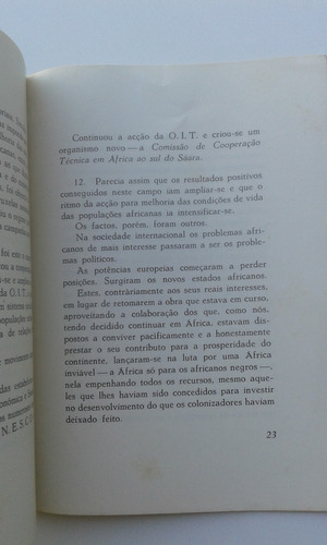 livreto - 1963 - problemas actuais da áfrica negra - lisboa