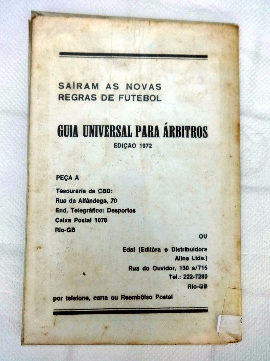 8bd371a4dc Livreto - Bochas ( Bocha ) Regras Oficiais - Cbd - 1972 - R  56