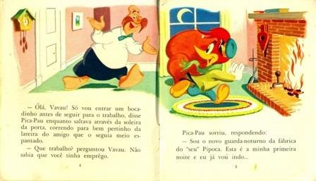 livrinho infantil nº 1  aventuras do pica-pau-melhoramentos