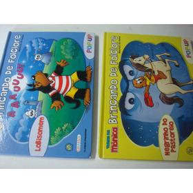 Livro  =  Turma Da Monica - Brincando De Folclore - 8 Un.