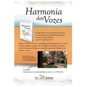 Livro - Rogerio Leonel - Harmonia Das Vozes - 2016