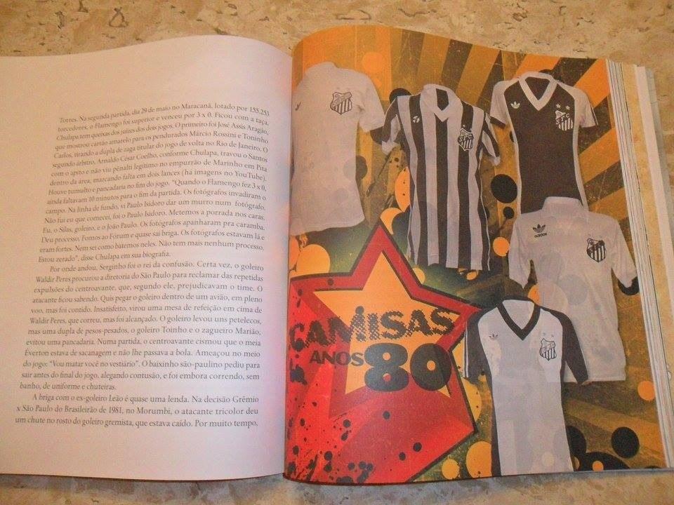 livro 10 décadas a história do santos futebol clube. Carregando zoom. c2f00be0bdc30