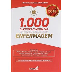 Livro 1000 Questões Comentadas Em Enfermagem 2ª Edição