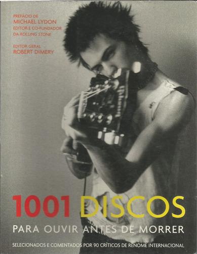 livro 1001 discos para ouvir antes de morrer, semi-novo