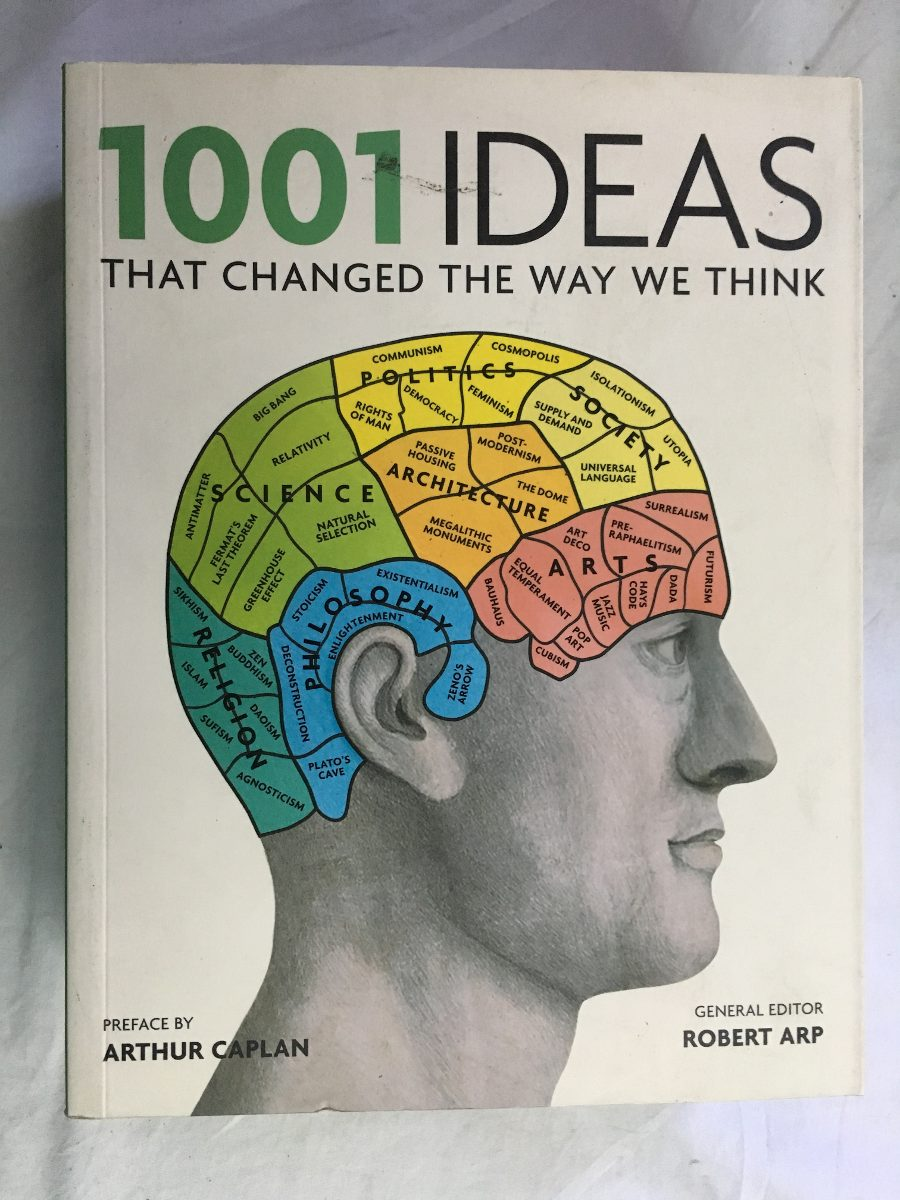 livro - 1001 ideas that changed the way we think. Carregando zoom.