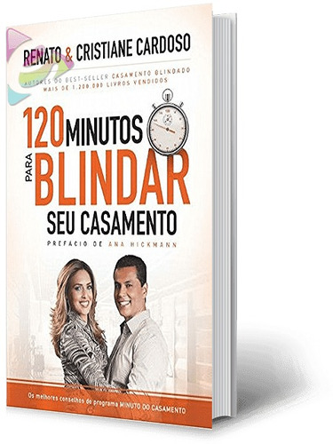 livro 120 minutos para blindar seu casamento cód. 29744