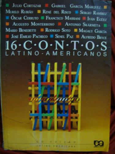 livro 16 contos latino-americanos - vários autores