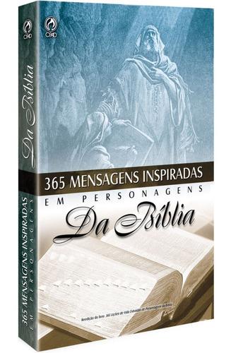 livro 365 mensagens inspiradas em personagens da bíblia