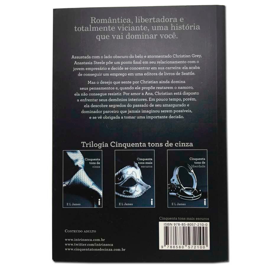 Livro 50 Cinquenta Tons De Cinza - Novo Best Seller - R