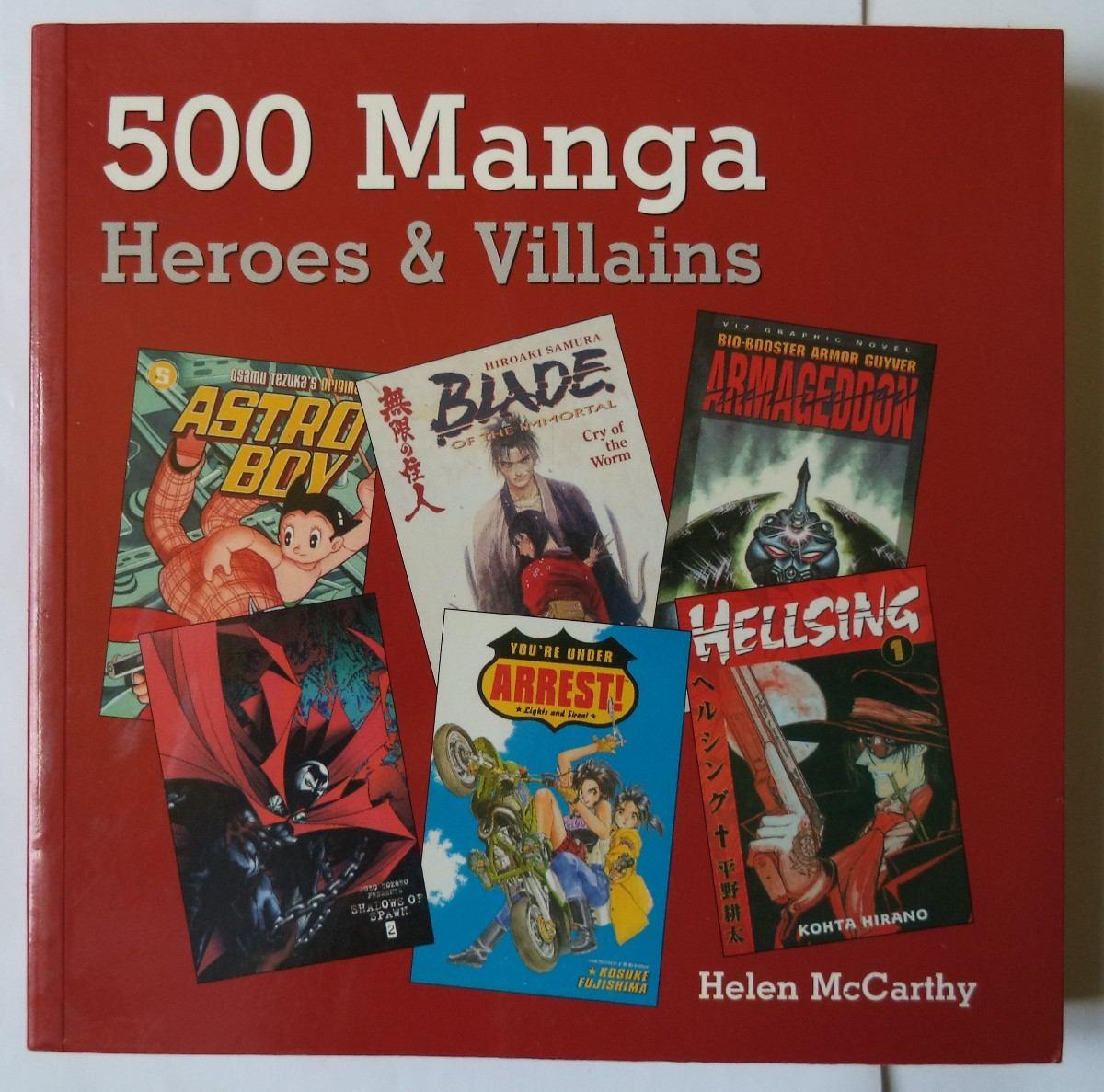 500 MANGA HEROES AND VILLAINS PDF