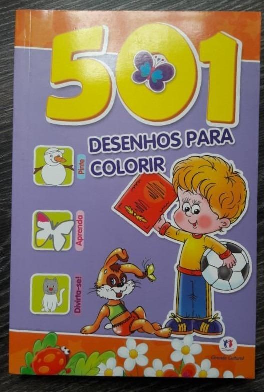 Livro 501 Desenhos Para Colorir Ciranda Cultural R 28 34 Em