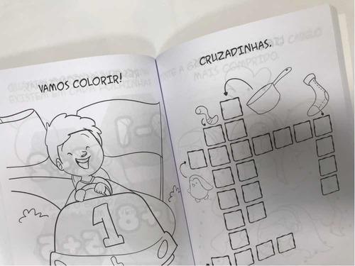 livro 551 atividades para colorir e brincar