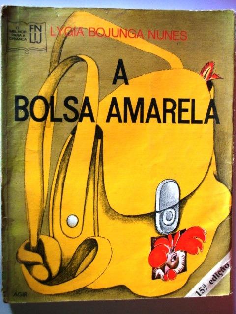 Livro A Bolsa Amarela - Lygia Bojunga Nunes - R$ 27,60 em