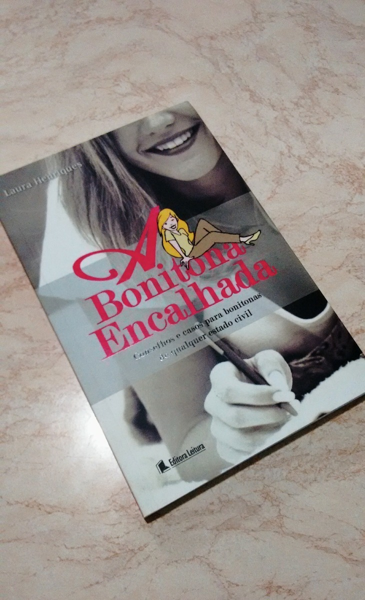 livro bonitona encalhada