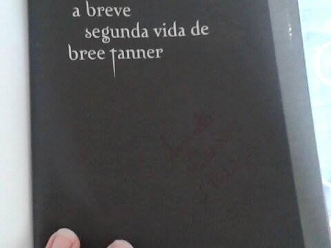 livro a breve segunda vida de bree tanner - crepúsculo