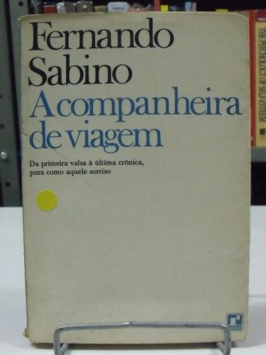 livro - a companheira de viagem - fernando sabino