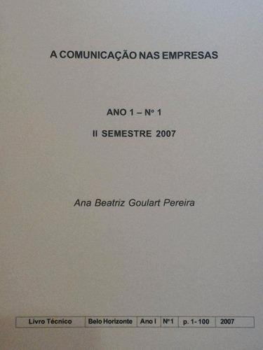 livro: a comunicação nas empresas
