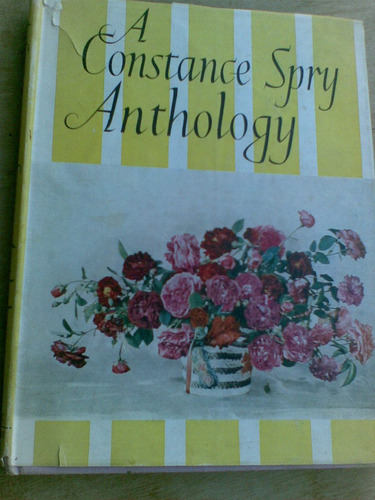 livro - a constance spry anthology.  ano 1953
