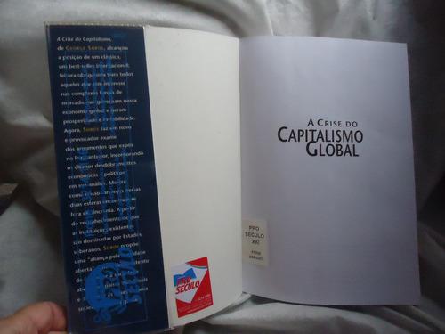 livro a crise do capitalismo global - george soros