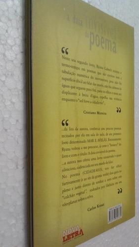 livro a data invisivel do poema - ryana gabech