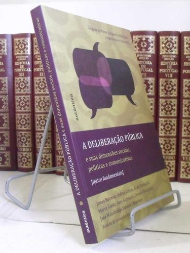 livro - a deliberação pública
