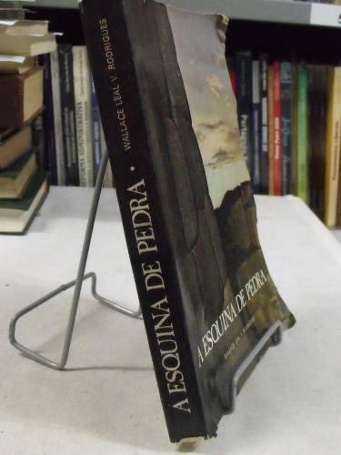 livro a esquina de pedra - wallace leal v. rodrigues