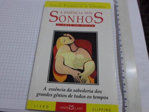 livro a essencia dos sonhos coleção pensamentos de sabedoria