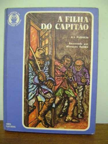 livro a filha do capitão - aleksander sergeyevich pushkin