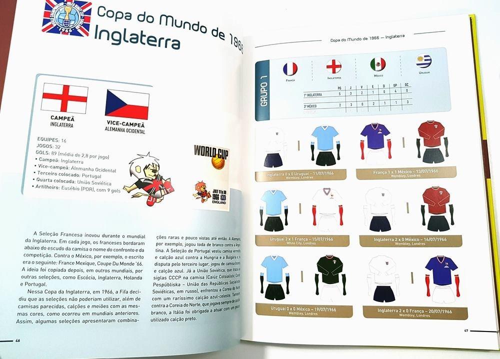 livro a historia das camisas de todos os jogos das copas. Carregando zoom. 754ae2d0eeab9