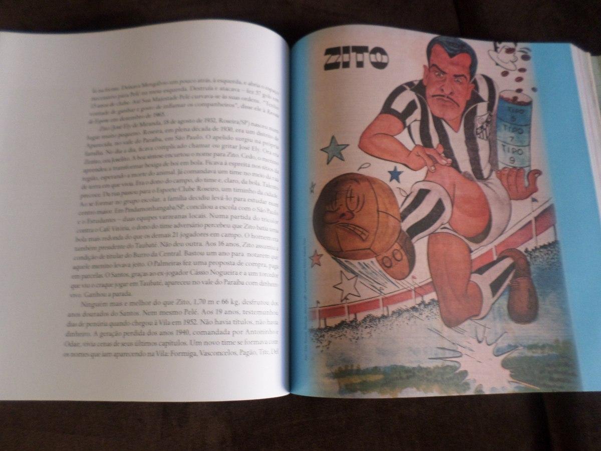 livro a história do santos futebol clube 10 décadas 498 pági. Carregando  zoom. 535ecbc7a1b48