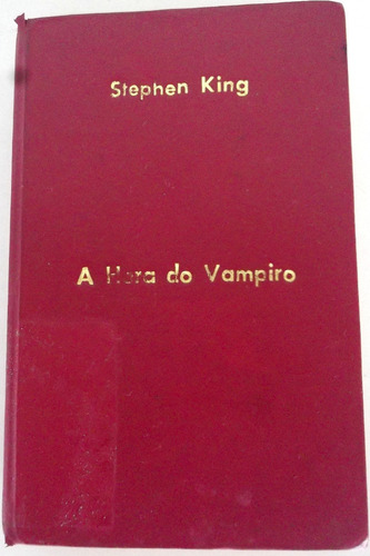 livro a hora do vampiro - stephen king