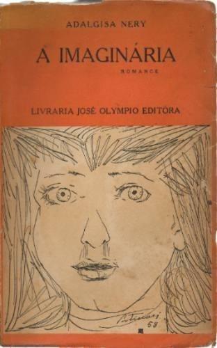 livro a imaginária  autografado adalgisa nery 1ª edição 1959