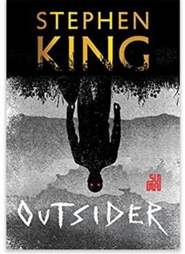 livro a incendiária + outsider - stephen king