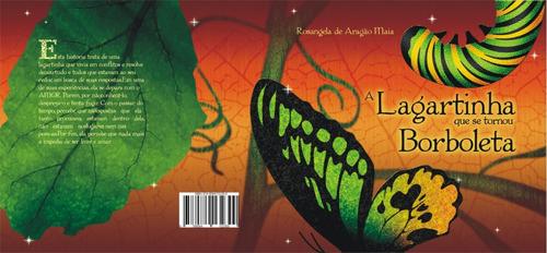 livro: a lagartinha que se tornou borboleta