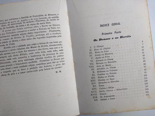 livro - a legenda dourada nova mitologia clássica - meunier
