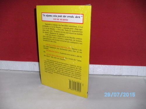 livro a lei de murphy livro três - arthur bloch - lacrado